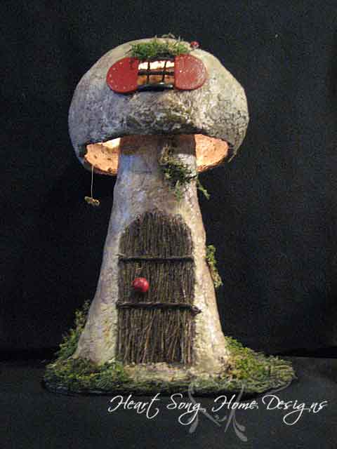 Mushroom House Design Philippines: Heart Song Home Designs « Whimsical Hand-crafted Gifts And